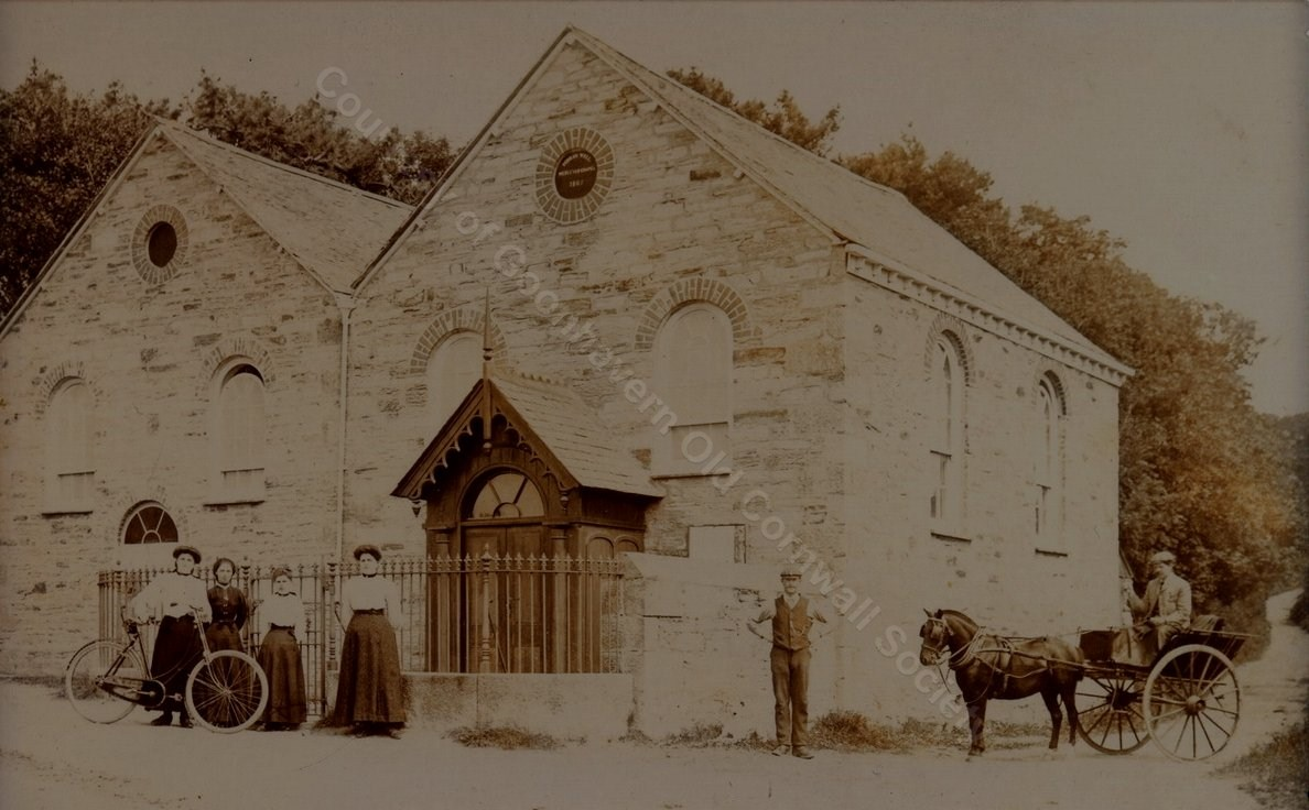 Perranwell Methodist Chapel Circa 1910