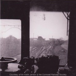 Shepherds Station from Newquay Bound train - Circa 1962