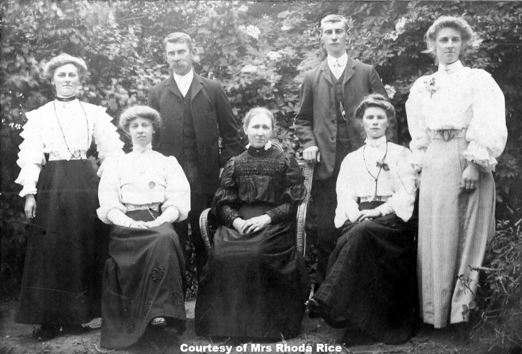 The White Family - Circa 1910