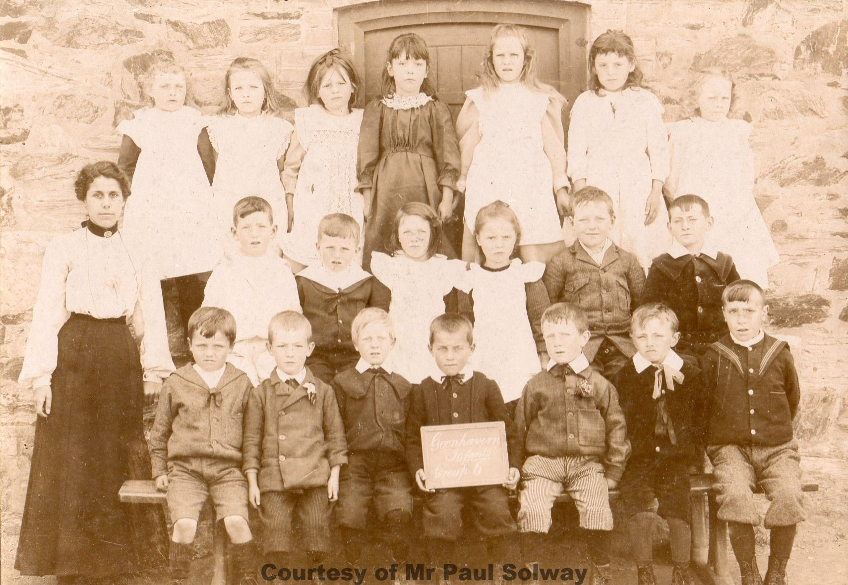Goonhavern School Classes - Circa 1891-1901