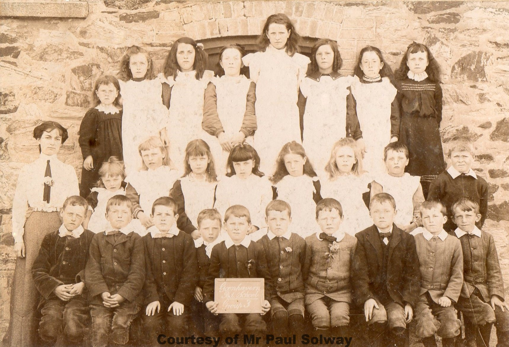 Goonhavern School Classes - Circa 1895-1901