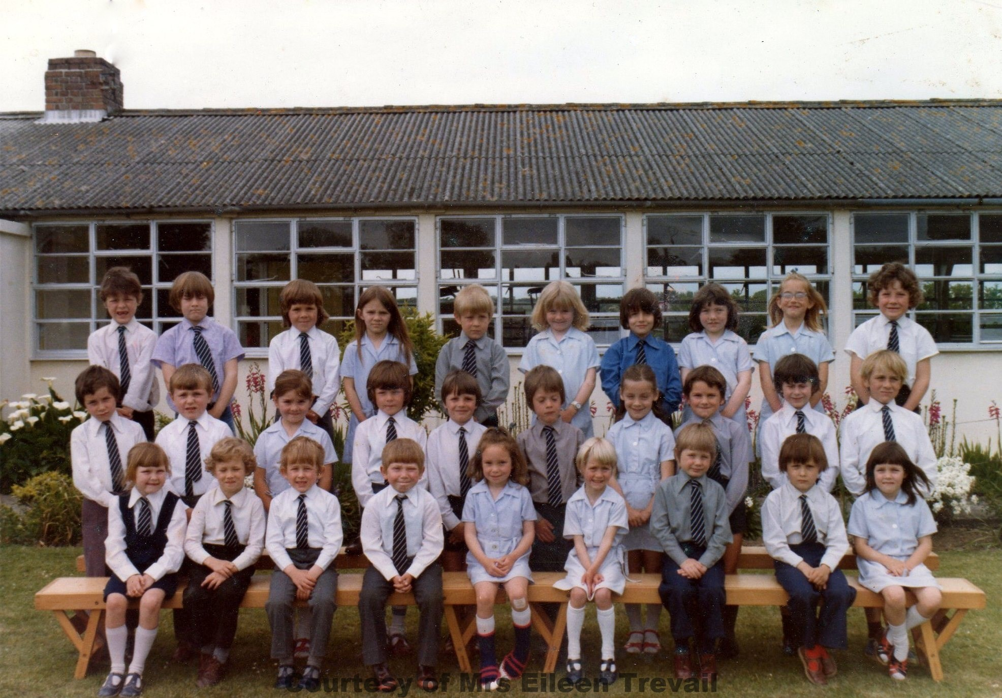 Goonhavern School Classes 1976