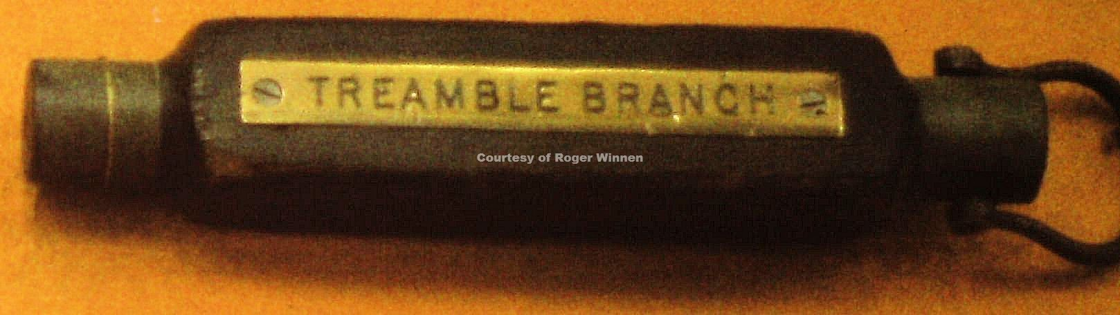 771029b Treamble Tokens etc - Copyright Roger Winnen