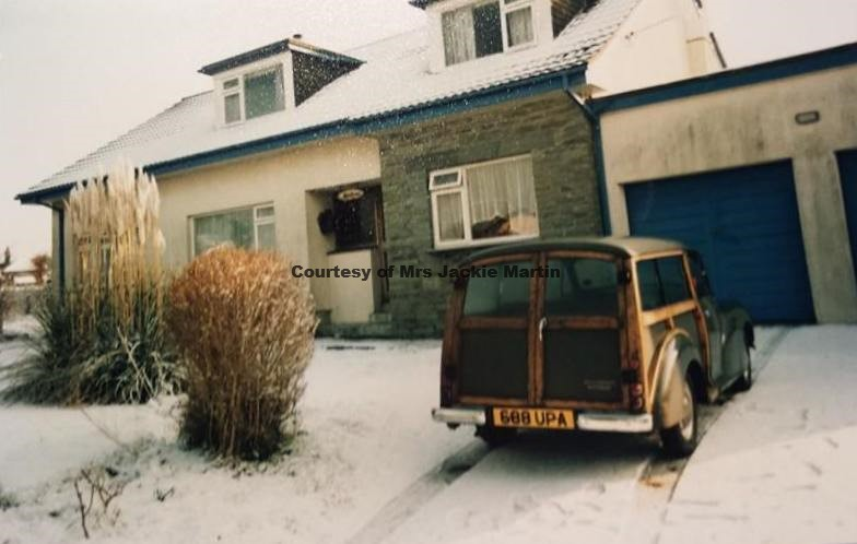 Cyril Parkes Morris 1000 at Martyns Close - Circa 1972