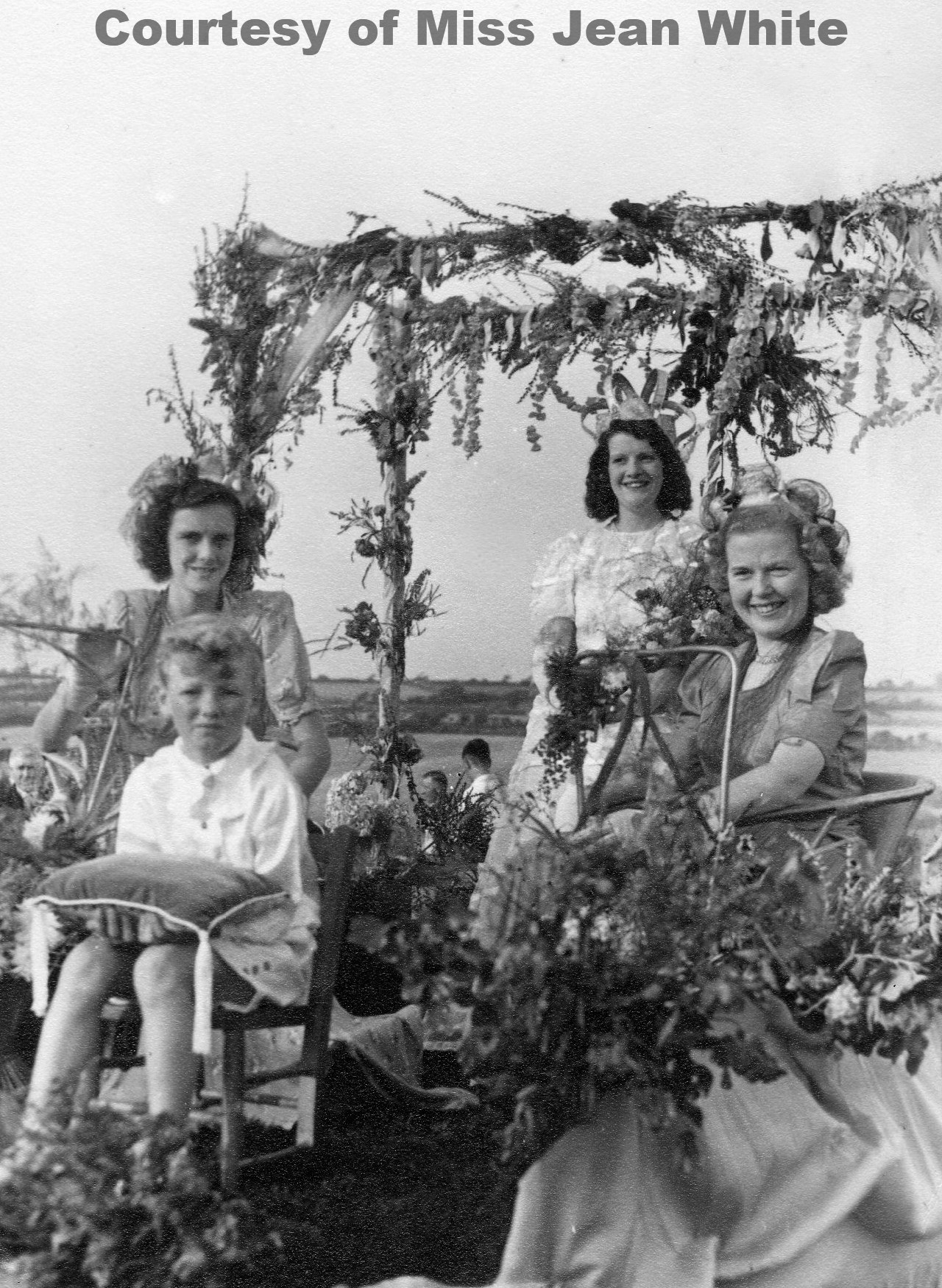 Goonhavern Carnival Queen 1949