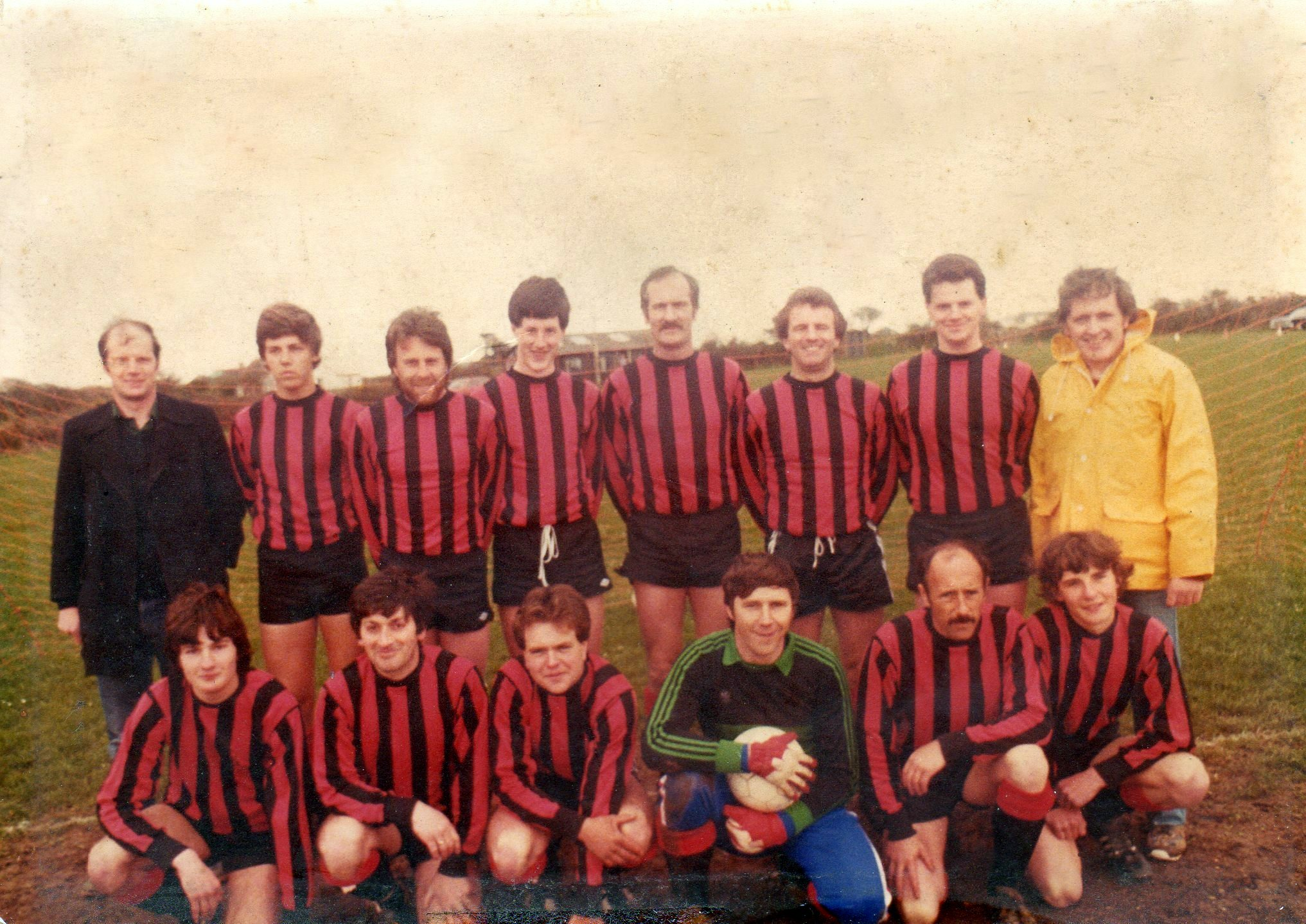 Goonhavern Football Team 1980's