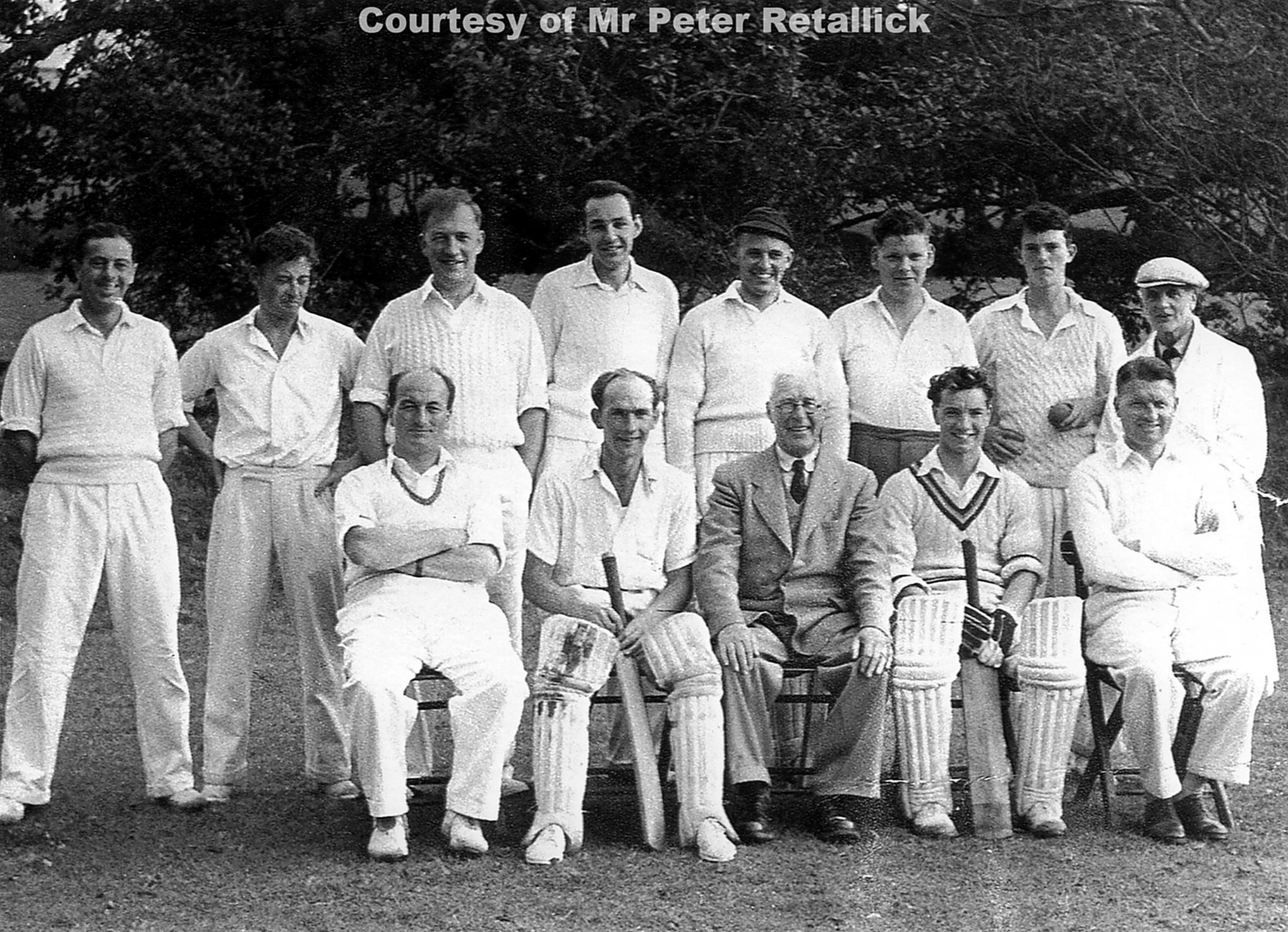 Perranporth Cricket Team 1954