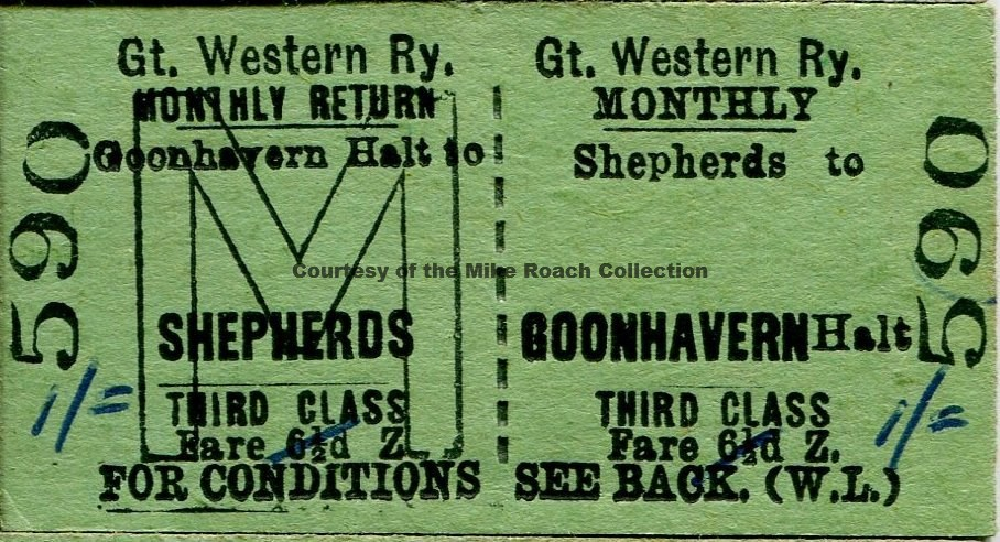 Shepherds - Goonhavern Ticket