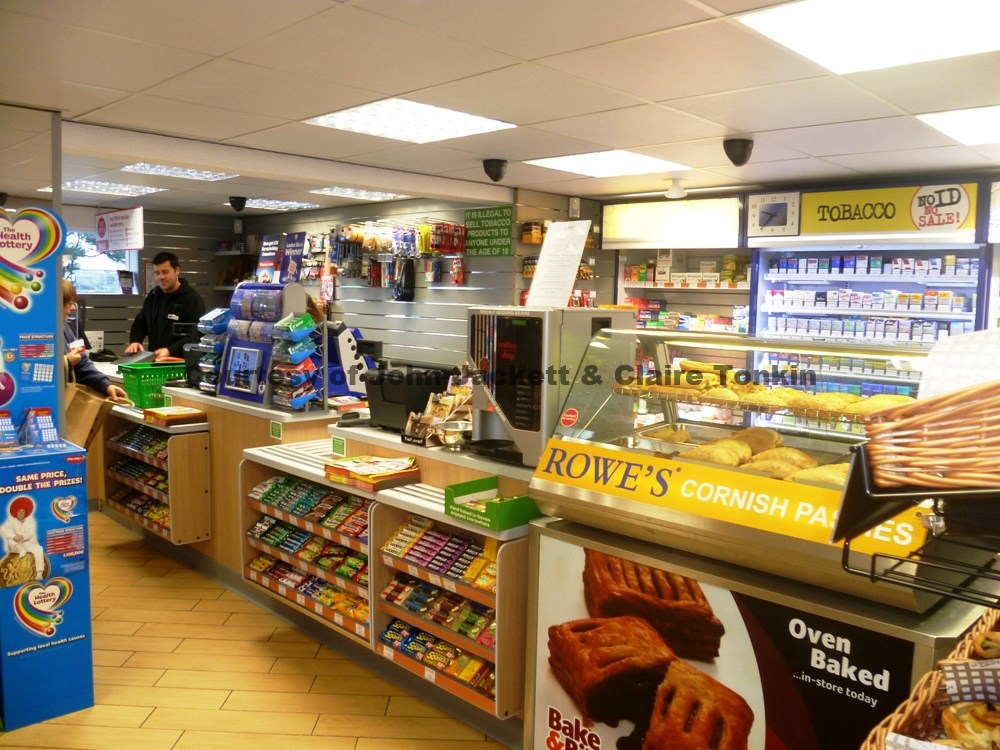 Village shop - new counters