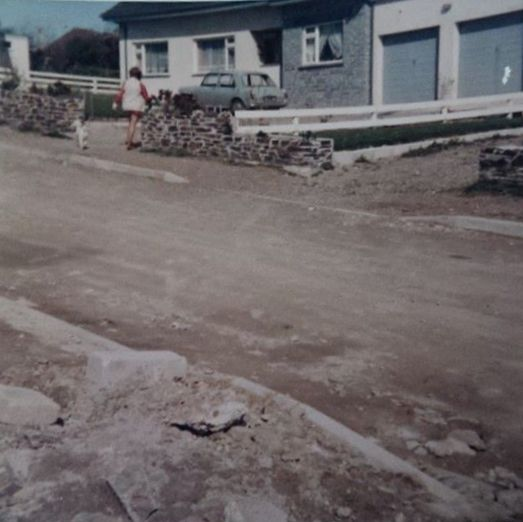 Yvonne & Cyril Parkes bungalow at Martyns Close - Late 1960's