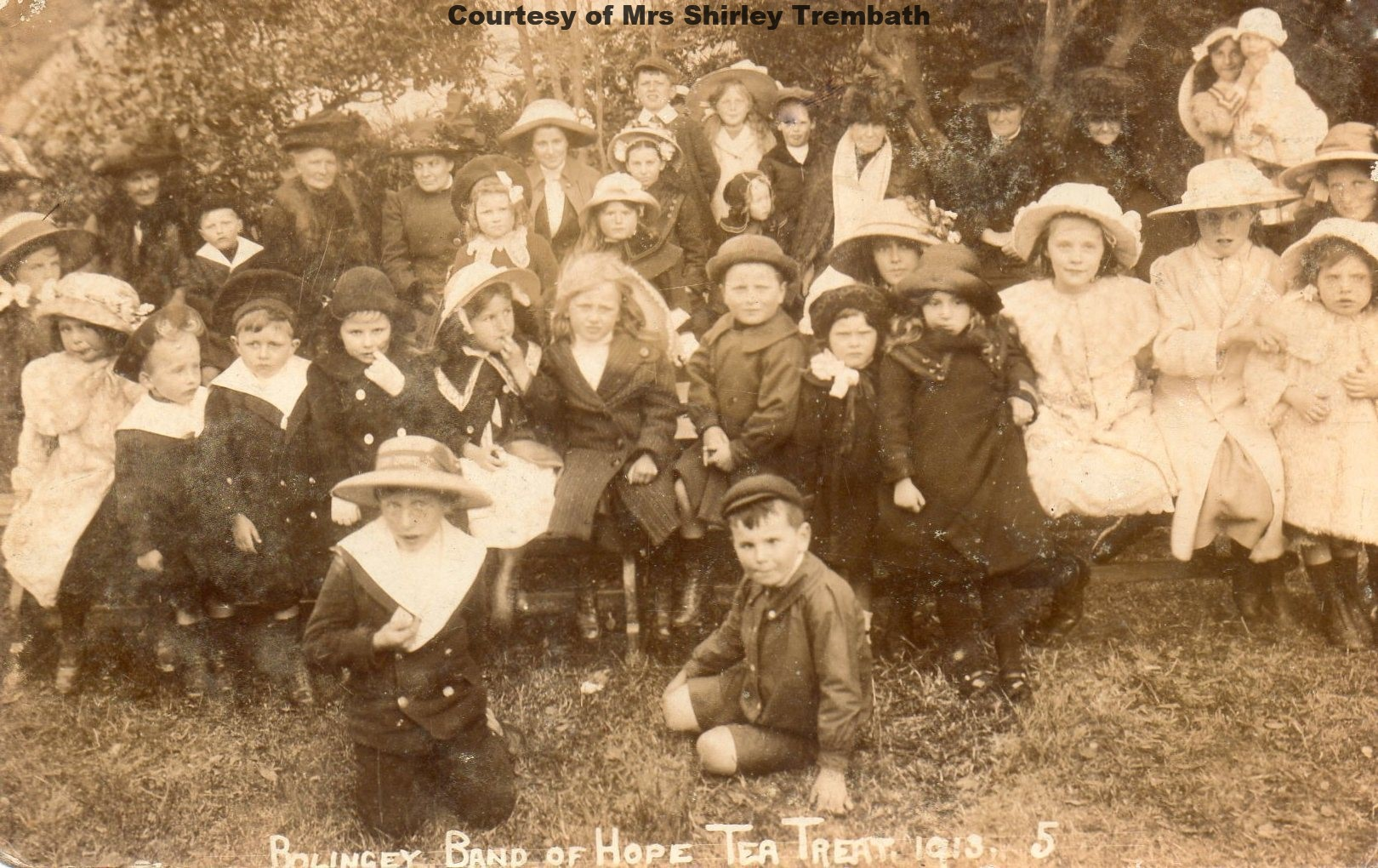 Bolingey Band of Hope 1912