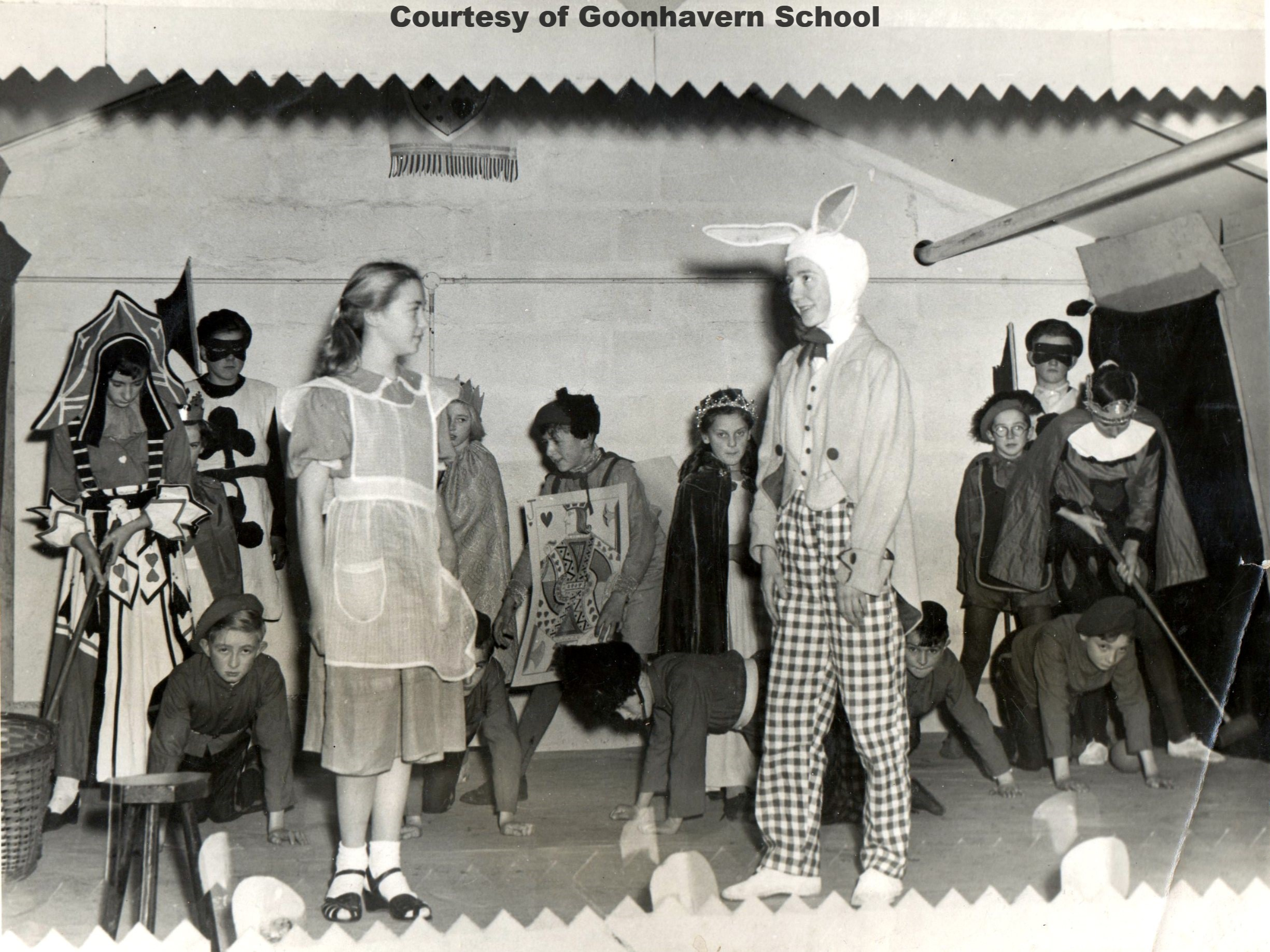 Goonhavern School Play 1955_56