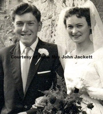 John Jackett & Marjorie Stephens Wedding 24 Sep 1952