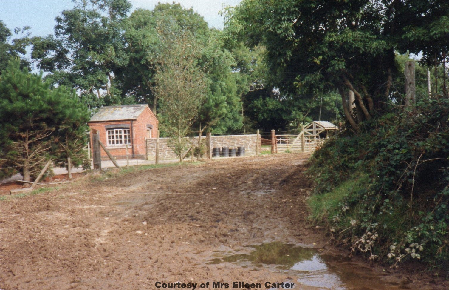 The old Weighbridge at Shepherds