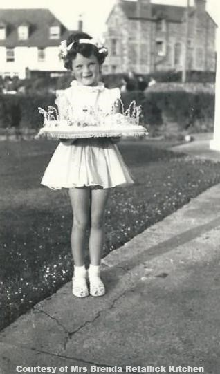 Brenda Retallick Perranporth Fairy Queen Sat 9th Aug 1958