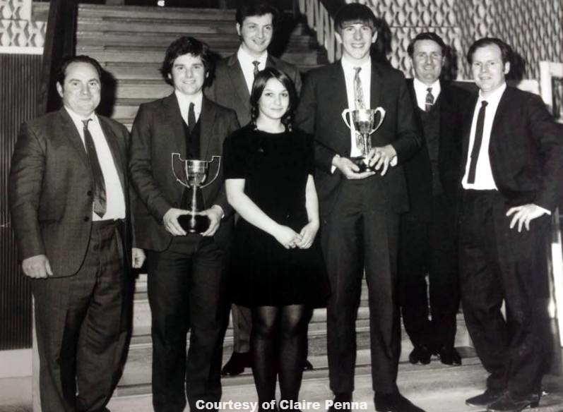 Rose Snooker Team Perranporth & District A League Champions - Circa 1971
