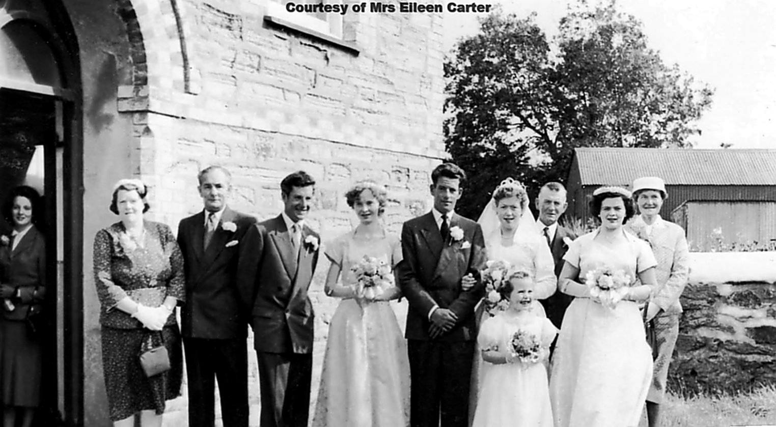 Tony Carter & Margaret Buddell Wedding 1956