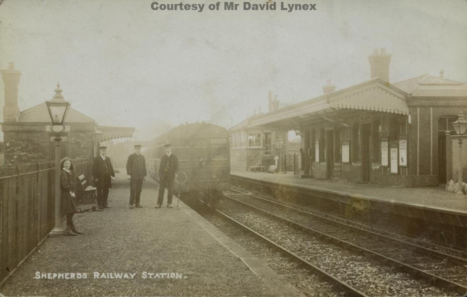 Shepherds Station - Early 1900's
