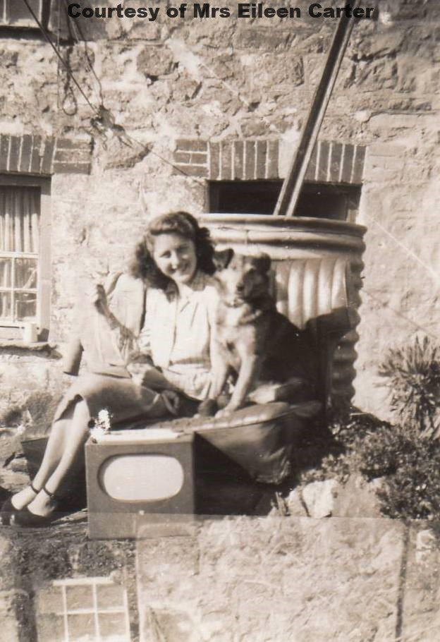 Eileen at No 3 Lower Rose 1949