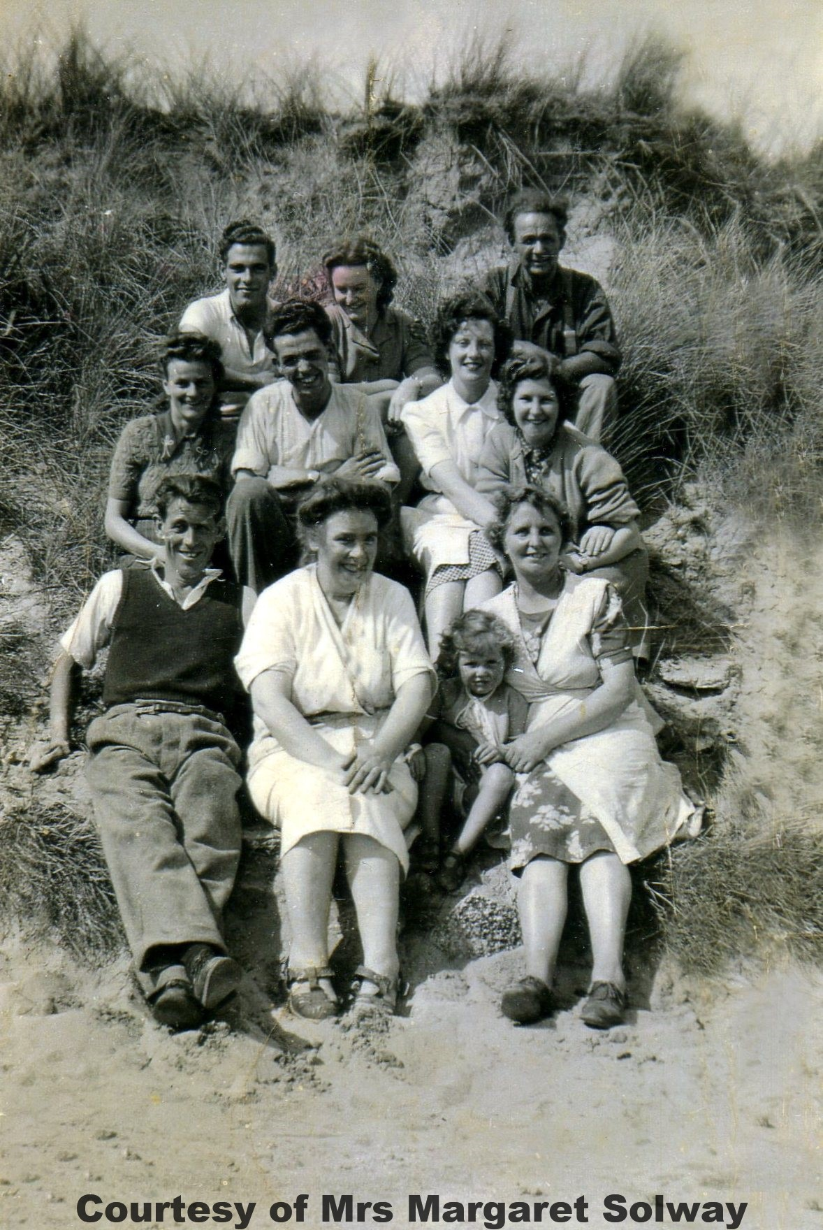 Solway family at Wheal Vlow